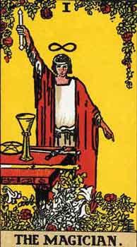 塔罗大阿卡纳|魔术师的「读牌细节」